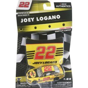 NASCAR 1/64:Joey Logano #22 Ford 2018 - Pennzoil  (イエロー/ブラック)|grease-shop