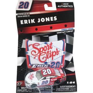 NASCAR 1/64:Erik Jones #20 Toyota 2018 - Sport Clips (ホワイト/レッド)|grease-shop
