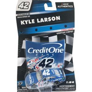 NASCAR 1/64:Kyle Larson #42 Chevrolet 2018 - Credit One/Stars  (ブルー/ホワイト)|grease-shop