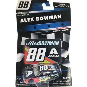 NASCAR 1/64:Alex Bowman #88 Chevrolet 2019 - Axalta  (ブルー/オレンジ/イエロー)|grease-shop
