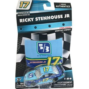 NASCAR 1/64:Ricky Stenhouse Jr.#17 Ford 2019 - Fifth Third Bank  (ブルー/イエロー)|grease-shop