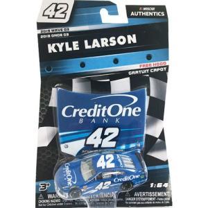 NASCAR 1/64:Kyle Larson #42 Chevrolet 2019 - Credit One Bank  (ブルー/ホワイト)|grease-shop