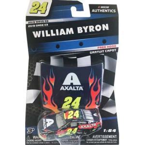 NASCAR 1/64:William Byron #24 Chevrolet 2019 Axalta with Plastic Hood (ネイビー)|grease-shop