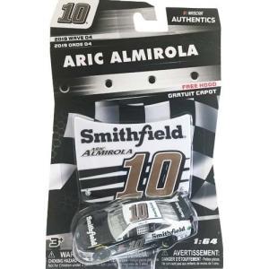 NASCAR 1/64:Aric Almirola #10 Ford 2019 Smithfield with Plastic Hood (ブラック/ホワイト)|grease-shop