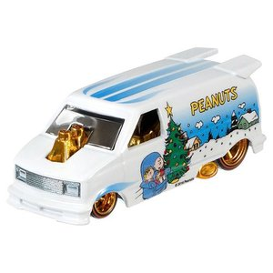 Hot Wheels Pop Culture 2016 Peanuts-スヌーピー(Snoopy):1985  シェビー・アストロバン (Chevy Astro Van)|grease-shop|02