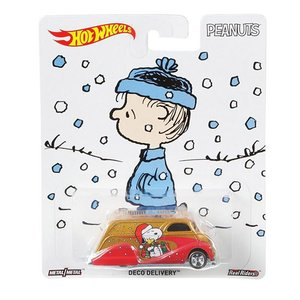 Hot Wheels Pop Culture 2016 Peanuts-スヌーピー(Snoopy):デコ・デリバリー (Deco Delivery)|grease-shop