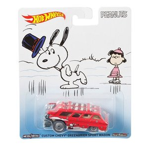Hot Wheels Pop Culture 2016 Peanuts-スヌーピー(Snoopy):カスタム・グリーンブライアー・スポーツワゴン (Custom Chevy Greenbrier Sport Wagon)|grease-shop