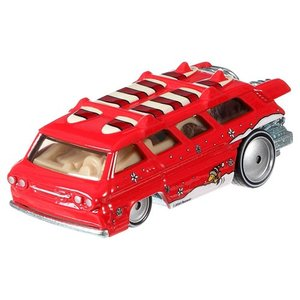 Hot Wheels Pop Culture 2016 Peanuts-スヌーピー(Snoopy):カスタム・グリーンブライアー・スポーツワゴン (Custom Chevy Greenbrier Sport Wagon)|grease-shop|02