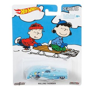 Hot Wheels Pop Culture 2016 Peanuts-スヌーピー(Snoopy):ローリング・サンダー (Rolling Thunder)|grease-shop