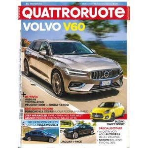 洋雑誌:Quattroruote 2018年8月号 (イタリア/クアトロルオーテ)|grease-shop