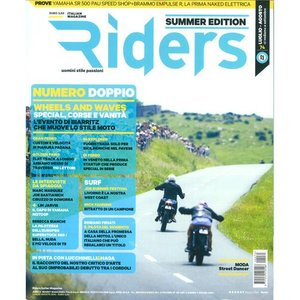 Riders 2014年7月号 (イタリア版)|grease-shop