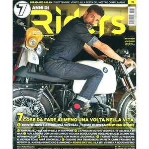 Riders 2014年9月号 (イタリア版)|grease-shop