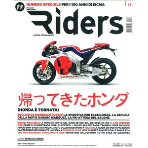 Riders 2014年11月号 (イタリア版)|grease-shop