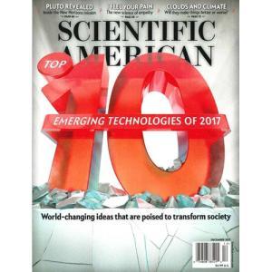 洋雑誌:Scientific American 2017年12月号 (米国版・サイエンティフィック・アメリカン)|grease-shop