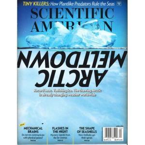 洋雑誌:Scientific American 2018年4月号 (米国版・サイエンティフィック・アメリカン)|grease-shop