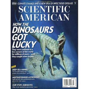 洋雑誌:Scientific American 2018年5月号 (米国版・サイエンティフィック・アメリカン)|grease-shop