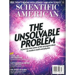 洋雑誌:Scientific American 2018年10月号 (米国版・サイエンティフィック・アメリカン)|grease-shop