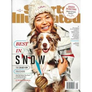 洋雑誌:Sports Illustrated 2018年2月26日号 (米国版/スポーツイラストレイテッド) grease-shop