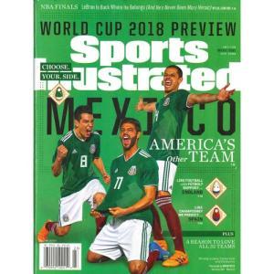 洋雑誌:Sports Illustrated 2018年6月4日-11日号 (米国版/スポーツイラストレイテッド) grease-shop