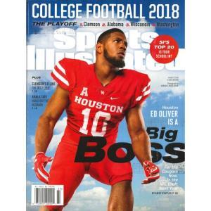洋雑誌:Sports Illustrated 2018年8月13日号 (米国版/スポーツイラストレイテッド) grease-shop