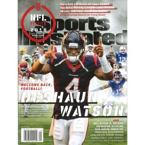 洋雑誌:Sports Illustrated 2018年8月27日-9月3日号 (米国版/スポーツイラストレイテッド)|grease-shop
