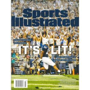 洋雑誌:Sports Illustrated 2018年9月10日号 (米国版/スポーツイラストレイテッド) grease-shop