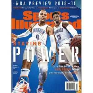 洋雑誌:Sports Illustrated 2018年10月22日-29日号 (米国版/スポーツイラストレイテッド)|grease-shop