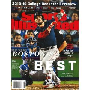 洋雑誌:Sports Illustrated 2018年11月5日号 (米国版/スポーツイラストレイテッド) grease-shop