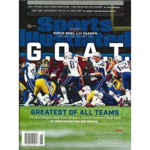 洋雑誌:Sports Illustrated 2019年2月11日号 (米国版/スポーツイラストレイテッド)|grease-shop