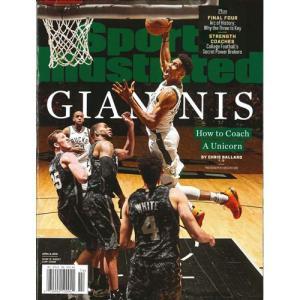 洋雑誌:Sports Illustrated 2019年4月8日号 (米国版/スポーツイラストレイテッド) grease-shop