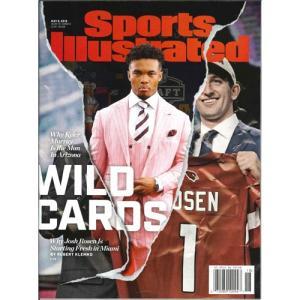洋雑誌:Sports Illustrated 2019年5月6日号 (米国版/スポーツイラストレイテッド)【日付/時間指定・不可】 grease-shop
