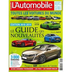 洋書:L'Automobile Hors Serie:Toutes les Voitures du Monde 2018-19|grease-shop