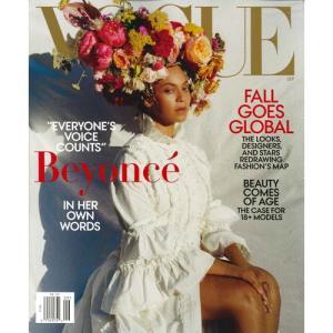 洋雑誌:Vogue USA:2018年9月号(米国版/ヴォーグ)|grease-shop