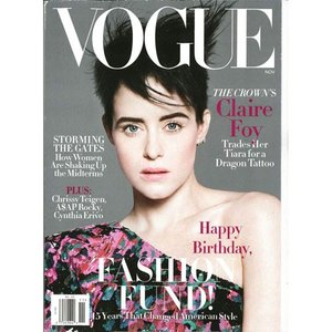 洋雑誌:Vogue USA:2018年11月号(米国版/ヴォーグ)|grease-shop