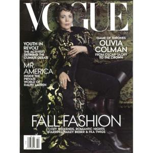 洋雑誌:Vogue USA:2019年10月号(米国版/ヴォーグ)|grease-shop