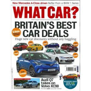 洋雑誌:What Car ? 2018年6月号 (イギリス版/ホワットカー)|grease-shop