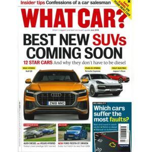 洋雑誌:What Car ? 2018年7月号 (イギリス版/ホワットカー)|grease-shop