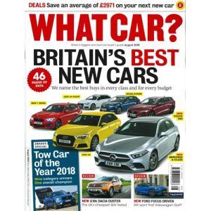 洋雑誌:What Car ? 2018年8月号 (イギリス版/ホワットカー) grease-shop