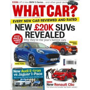 洋雑誌:What Car ? 2019年8月号 (イギリス版/ホワットカー)|grease-shop