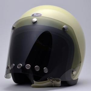 バイク用 ジェットヘルメット カスタムコンペシールド For BUCO・SHM スモーク/グラデーション|greasykids