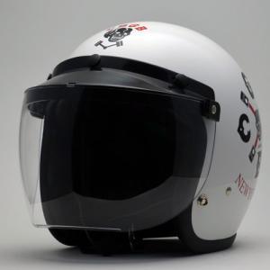 バイク用 ジェットヘルメット 立花 RT−1Nシールド 各カラー|greasykids