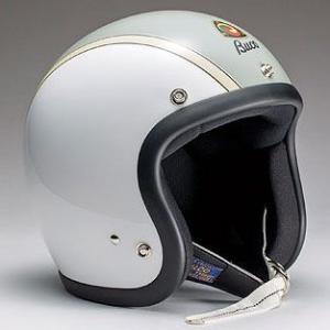 ハーレー用 BUCO ジェットヘルメット スモールブコ ベビーブコ AMA センターラインベース ホワイト|greasykids