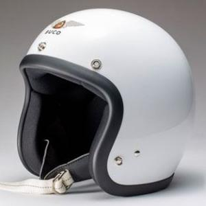 ハーレー用 BUCO ジェットヘルメット エクストラブコ AMA プレーンベース ホワイト|greasykids
