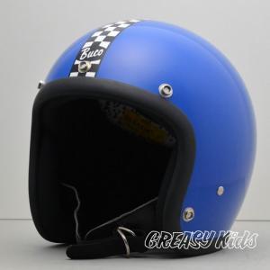 ハーレー用 BUCO ジェットヘルメット スモールブコ ENDURO(エンデューロ) ブルー|greasykids