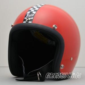 ハーレー用 BUCO ジェットヘルメット スモールブコENDURO(エンデューロ) レッド|greasykids