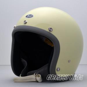 ハーレー用 BUCO ジェットヘルメット  Collaboration 1st  アイボリー|greasykids