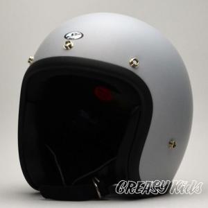 ハーレー用 ジェットヘルメット 立花 タチバナ SHM BOY  GREASYKIDS Limited Edition  マットグレー|greasykids