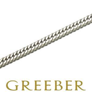 喜平 ブレスレット Pt850 6面ダブル 20g 20cm プラチナ キヘイ 新品 SZK|greeber01