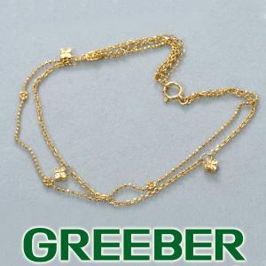アンクレット クローバー リーフ K18YG  GENJ 超大幅値下げ品|greeber01