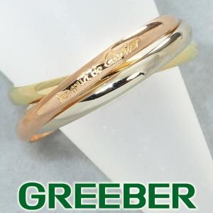 カルティエ リング 指輪 トリニティ 50号 K18YG/WG/PG BLJ|greeber01